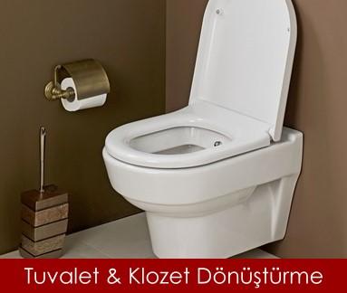 tuvalet dönüştürme